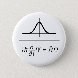 Badge Rond 5 Cm Équation de Schrödinger
