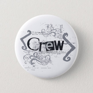 Badge Rond 5 Cm Équipage grunge