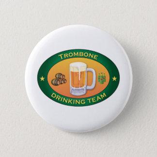 Badge Rond 5 Cm Équipe potable de trombone