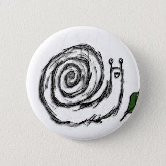 Badge Rond 5 Cm Escargot