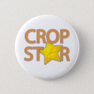 Badge Rond 5 Cm Étoile de culture