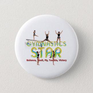 Badge Rond 5 Cm Étoile SUPÉRIEURE de gymnastique
