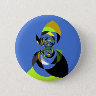 Badge Rond 5 Cm Femme de couleurs