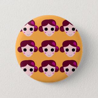 Badge Rond 5 Cm Femmes de santé sur l'or