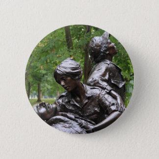Badge Rond 5 Cm Femmes du Vietnam commémoratives