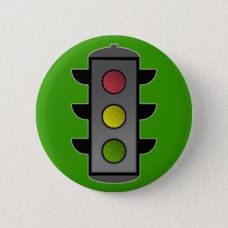 Badge Rond 5 Cm Feu de signalisation d'art de bruit