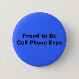 Badge Rond 5 Cm Fier au téléphone de BeCell libérez