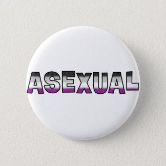 Badge Rond 5 Cm Fierté asexuelle