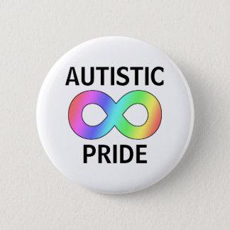 Badge Rond 5 Cm Fierté autiste
