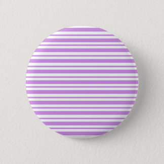Badge Rond 5 Cm Filet horizontal de lavande