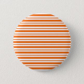 Badge Rond 5 Cm Filet horizontal orange