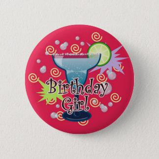 Badge Rond 5 Cm Fille d'anniversaire de margarita