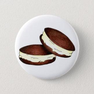 Badge Rond 5 Cm Fin gourmet de Néerlandais de PA du Maine de