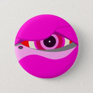 Badge Rond 5 Cm flamant eye2