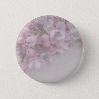 Badge Rond 5 Cm Fleur lilas