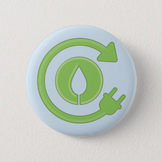 Badge Rond 5 Cm Gardez le bouton vert du Colorado