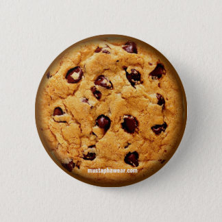 Badge Rond 5 Cm Gâteau aux pépites de chocolat