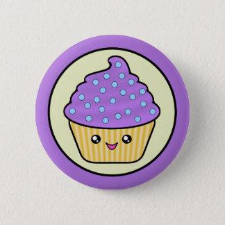 Badge Rond 5 Cm Gâteau de Cuppy de petit gâteau de Kawaii