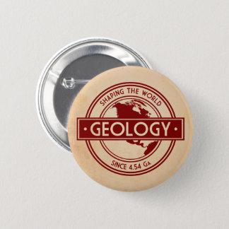 Badge Rond 5 Cm Géologie formant le logo du monde (Amérique du