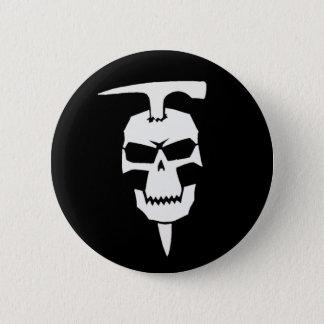 Badge Rond 5 Cm Géologue de pirate
