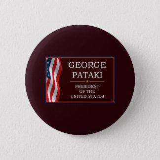 Badge Rond 5 Cm George Pataki pour le Président V3