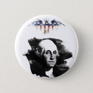 Badge Rond 5 Cm George Washington