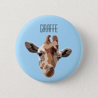 Badge Rond 5 Cm Giraffe Button