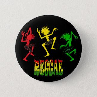 Badge Rond 5 Cm Graffiti de musique d'homme de rasta de reggae de