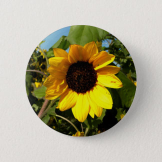 Badge Rond 5 Cm Grand jaune