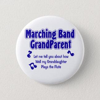Badge Rond 5 Cm Grand-parent de fanfare