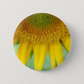 Badge Rond 5 Cm Habillement de tournesol pour des adultes et des