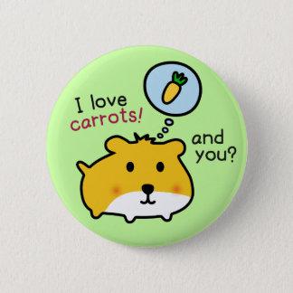 Badge Rond 5 Cm hamster mignon timmy