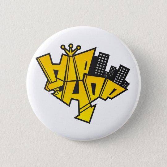 Badge Rond 5 Cm Hip-hop logo