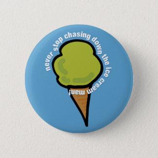 Badge Rond 5 Cm Homme de crème glacée
