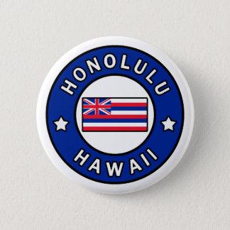 Badge Rond 5 Cm Honolulu Hawaï