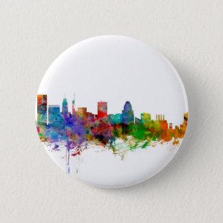 Badge Rond 5 Cm Horizon de Baltimore le Maryland
