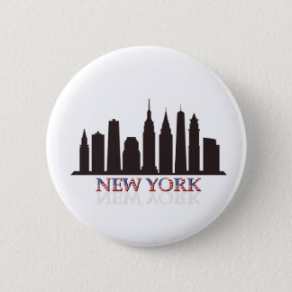 Badge Rond 5 Cm horizon de New York
