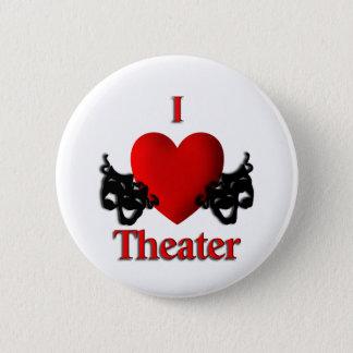 Badge Rond 5 Cm I théâtre de coeur