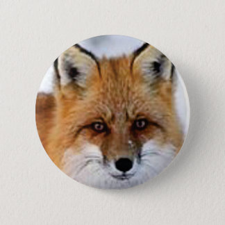 Badge Rond 5 Cm image de fantaisie de renard