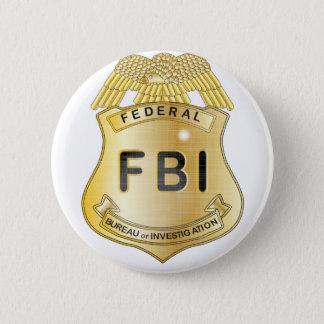 Badge Rond 5 Cm Insigne de FBI