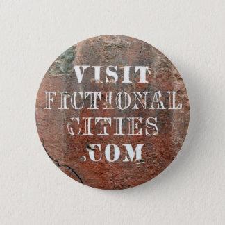 Badge Rond 5 Cm Insigne fictif de mur de villes