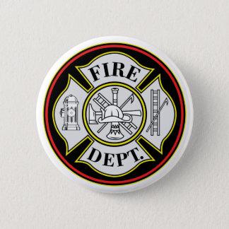 Badge Rond 5 Cm Insigne rond de corps de sapeurs-pompiers