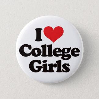 Badge Rond 5 Cm J'aime des étudiantes