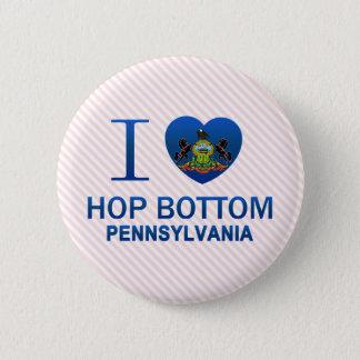 Badge Rond 5 Cm J'aime le fond d'houblon, PA