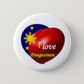 Badge Rond 5 Cm J'aime Pangasinan