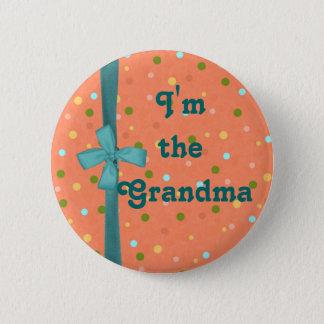"""Badge Rond 5 Cm """"Je suis des bulles de la grand-maman"""" -"""