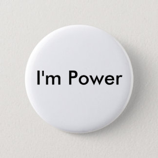 Badge Rond 5 Cm Je suis puissance