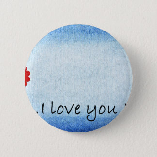 Badge Rond 5 Cm Je t'aime maman