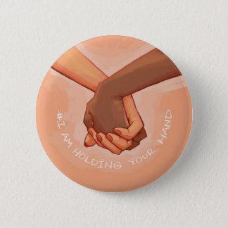 Badge Rond 5 Cm Je tiens votre main par @Alalampone