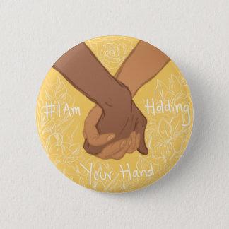 Badge Rond 5 Cm Je tiens votre main par le @CharlieThisPain